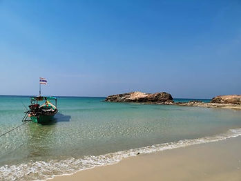 plage eau turquoise khao lak