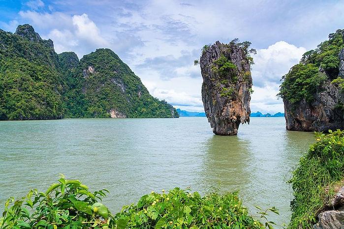 baie de phang ga thailande