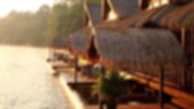 bungalow flottant Thaïlande