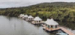 bungalow flottant cambodge
