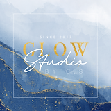 Logo design Glow Studio by C.S_