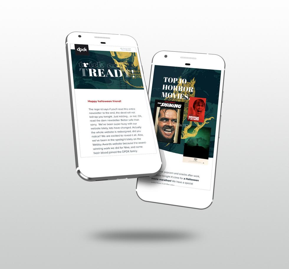 DPDK - newsletter design