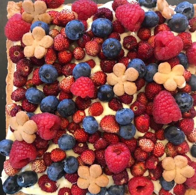 Crostata con i frutti di bosco