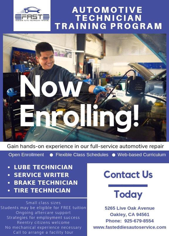 Fast Eddies Automotive Technician Progra