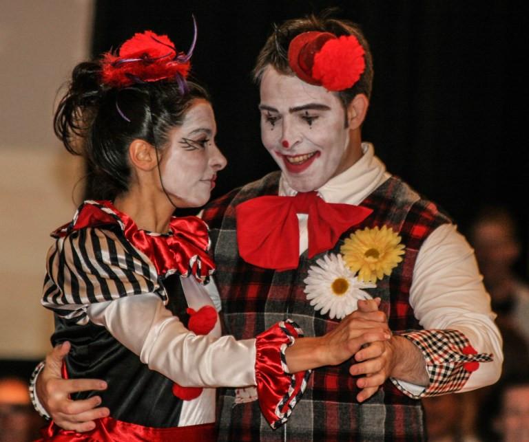 photo of clowns © Katherine Broadway