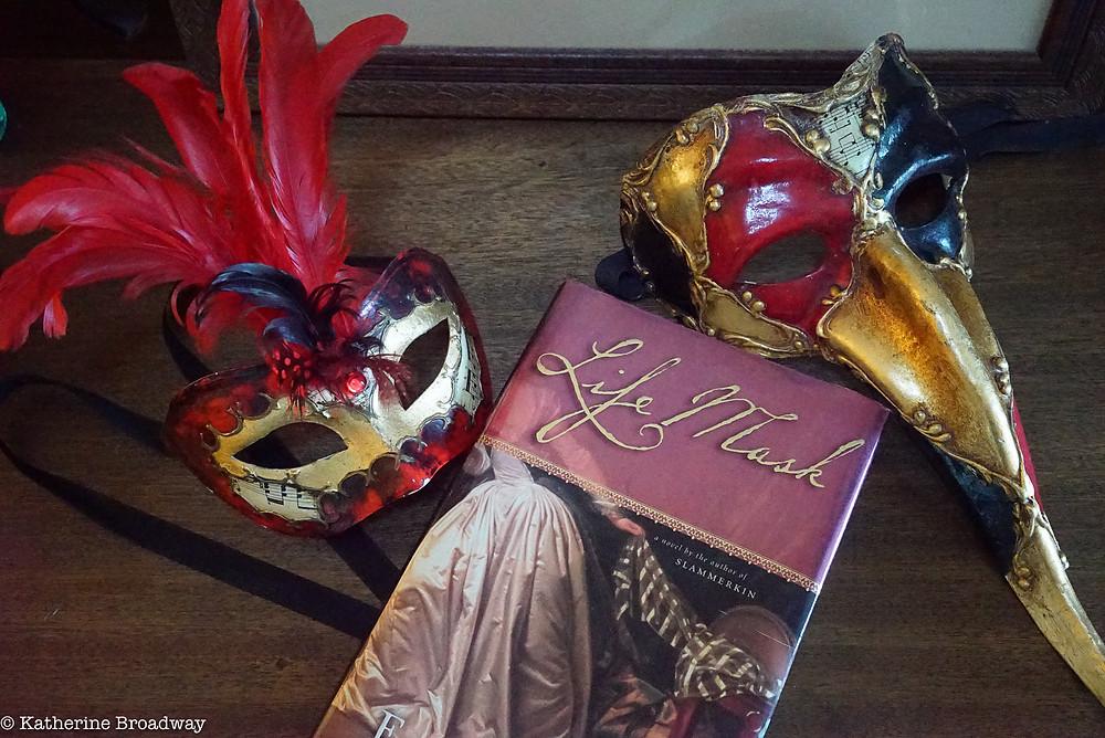 Image of mardi gras masks. Raleigh psychotherapy, Katherine Broadway,