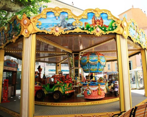 Image of merry go round. Photo © Katherine Broadway, Raleigh Psychotherapy, Counseling