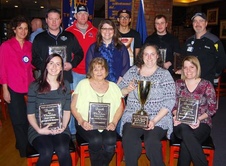 DBC Award Winners Get Plaques