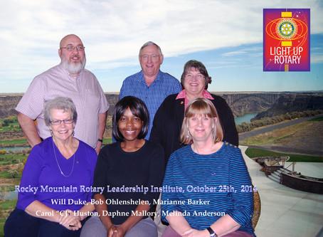 2 Attend Rocky Mountain Rotary Leadership Award