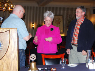 TF Rotary Welcomes 2 New Members