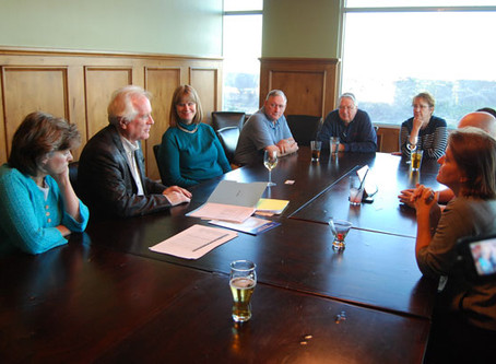 Board Meets with DG Phillips