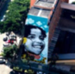 The World's Largest Stencil, stencil, biggest stencil, izolag, ananda nahu, street art, streetart rio de janeiro, arte urbana, carioca, liceu das artes, o maior stencil do mundo, izolag, anahu, ananda nahu, firme forte, firme forte records, muralism