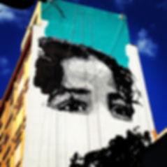 The World's Largest Stencil, o maior stencil do mundo, izolag, anahu, ananda nahu, firme forte records, biggest stencil, big stencil, street art rio de janeiro, arte urbana, carioca, rio de janeiro, urban art, izolag armeidah, graffiti, wall paint,