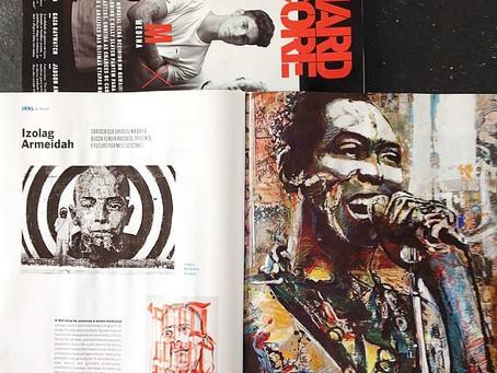 Revista HardCore desse mês, já nas bancas