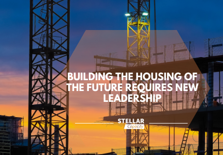 Building the housing of the future requires new leadership