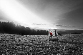 Leinwand-Druck LP8s/w von Designerin Selina Haas