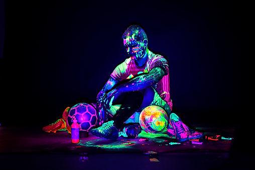 Fußballer Fotografie von Selina Haas Design
