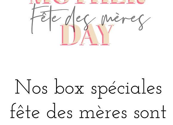 BOX Spéciales Fête des mères