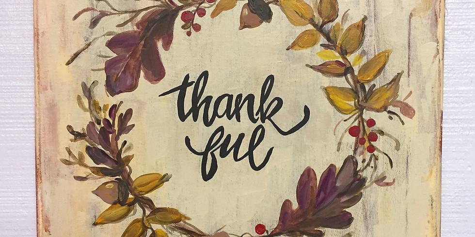 Thank-ful Wreath (Lindenhurst)