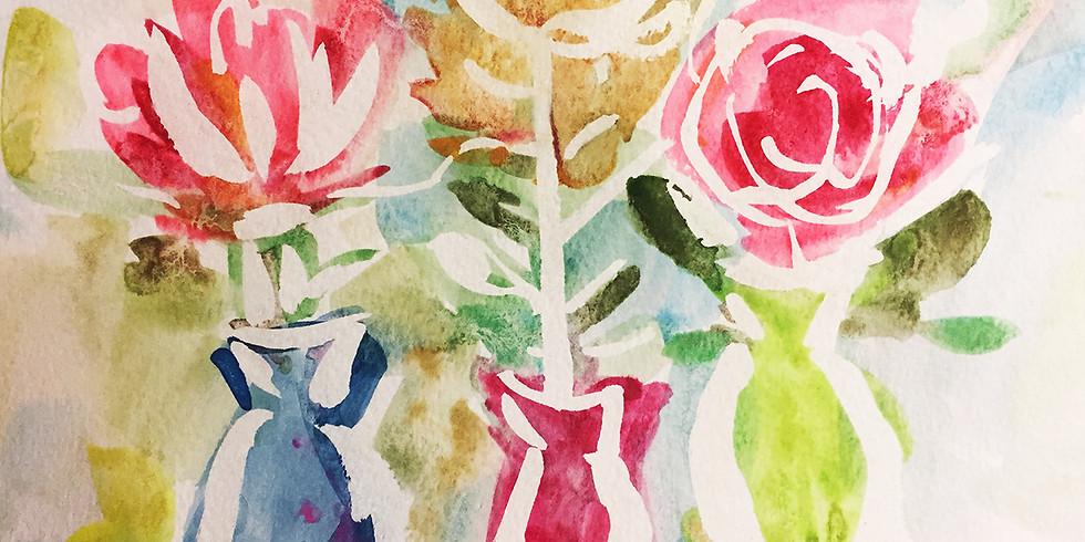 Kids Create: Watercolor Resist
