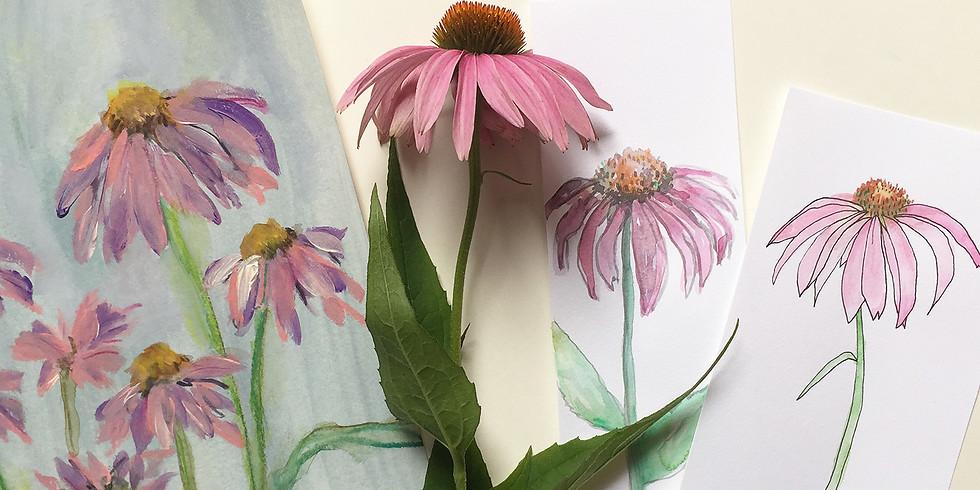 Botanicals: Illustrative & Painterly