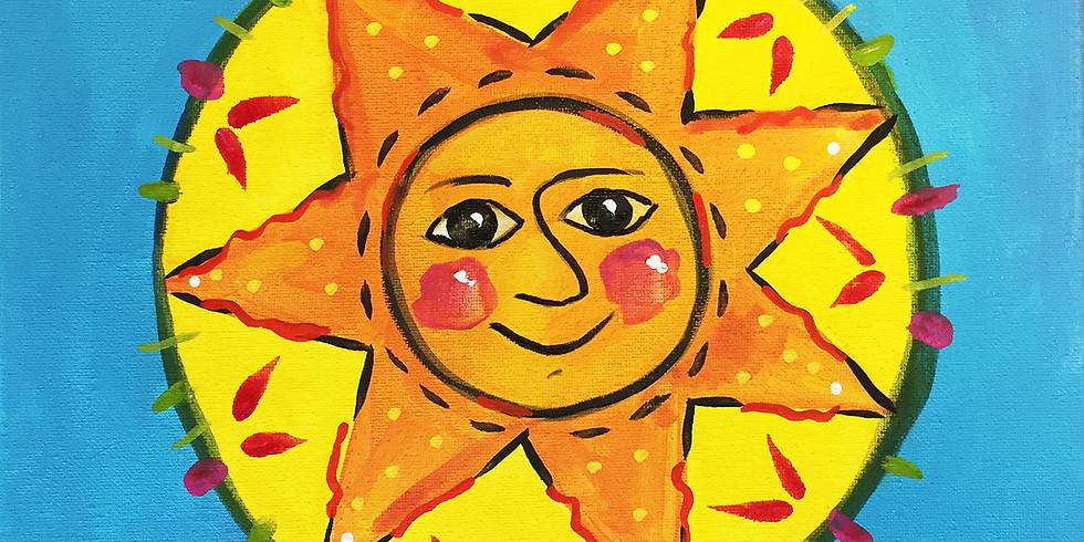 Kids Create: Smiling Sun