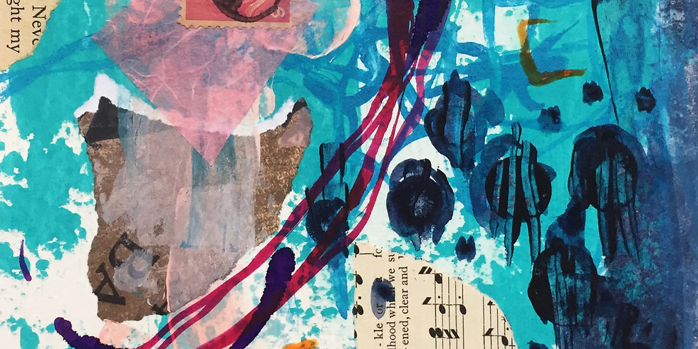 Mixed Media Recipes: Paint, Ink & Collage