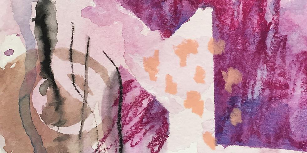 Mixed Media Recipes: Watercolor & Stencils