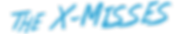 XMisses logo 2019 solid desaturated blue