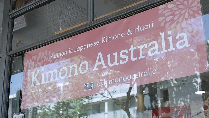 Kimono Australia POP UP Store