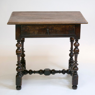 17th C French Walnut Tavern Table