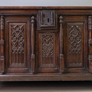 French Gothic Coffer