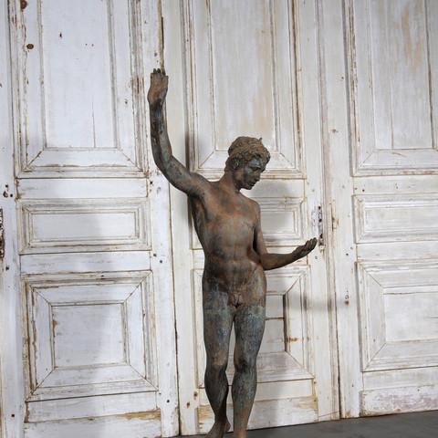 Millineal Boy Sculpture