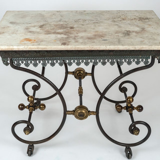 19th C French Bakers Table