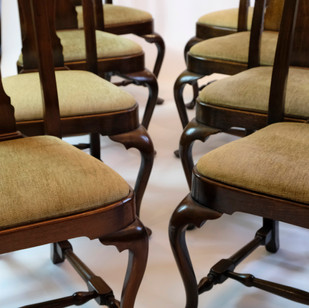 Set of 16 Queen Anne Dining Chairs