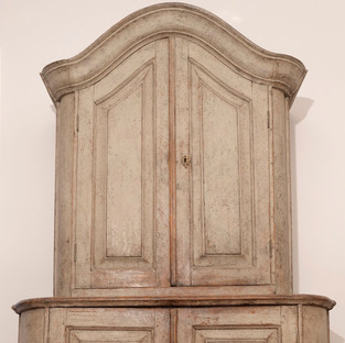 Swedish Painted Cupboard