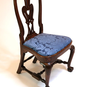 Boston Compass Seat Side Chair