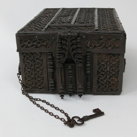 Medieval Iron Missal Box