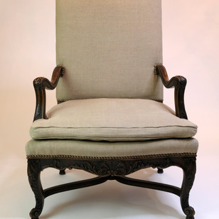French Regency Down Arm Chairs