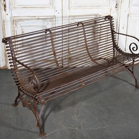 Arras Iron Garden Bench