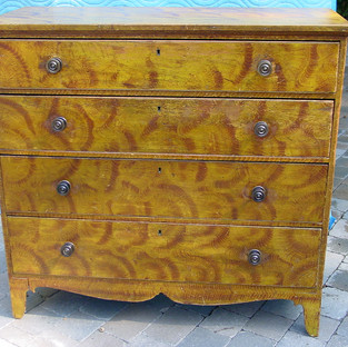 American Paint Decorated Chest