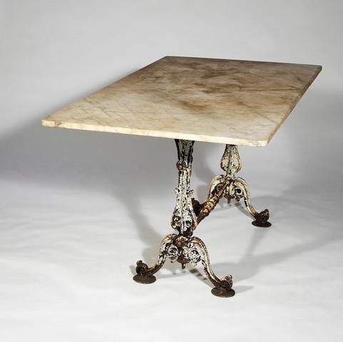 Italian Cast Iron Garden Table