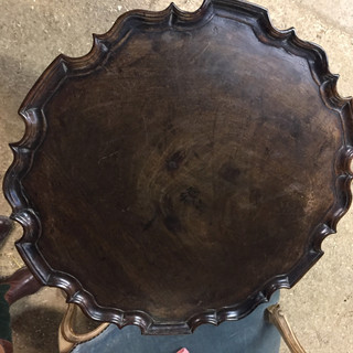 18th C English Pie Crust Tea Table
