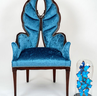 Hollywood Regency Butterfly Chair