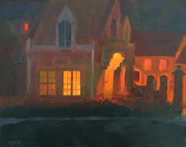 Gatehouse at Night
