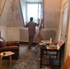 Josh's studio