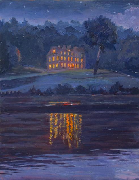 Chateau at Night