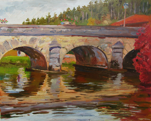 Bridge, Rogon River, France