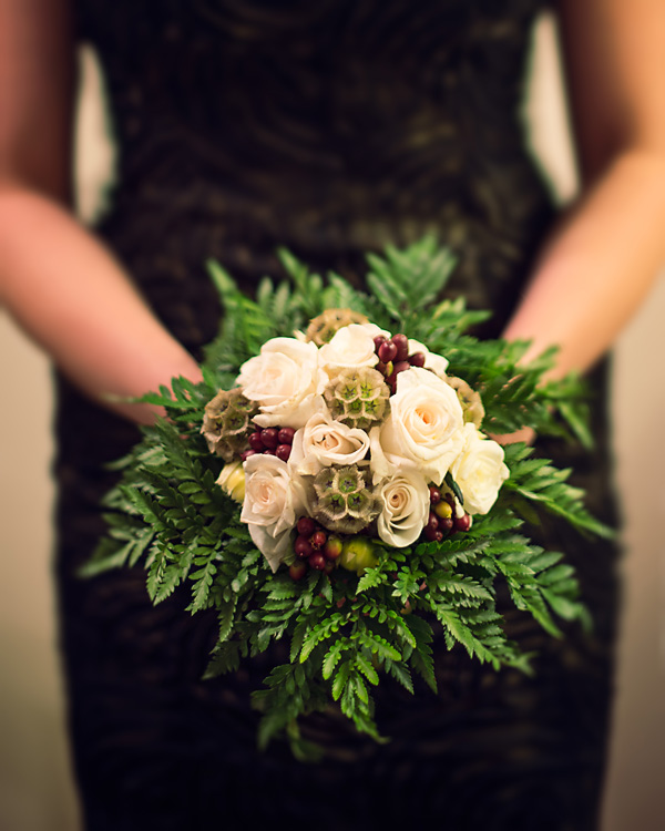 Organic Bridesmaid Bouquet