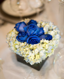Blue Theme Centerpiece